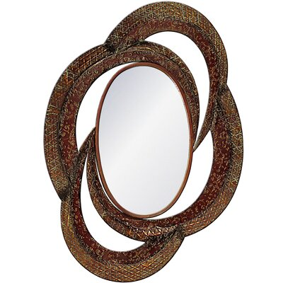 House Additions Mayfair Oval Metal Mirror