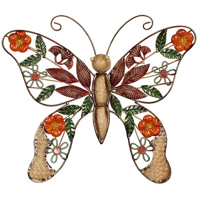 House Additions Butterfly Original Painting Plaque