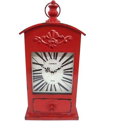 House Additions Mantel Clock