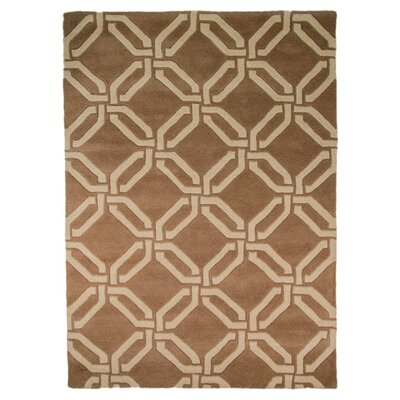 House Additions Moorish Brown Area Rug