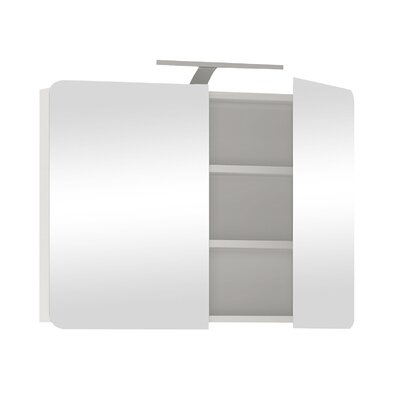 House Additions Lancaster 80 x 68.6cm Surface Mount Flat Mirror Cabinet