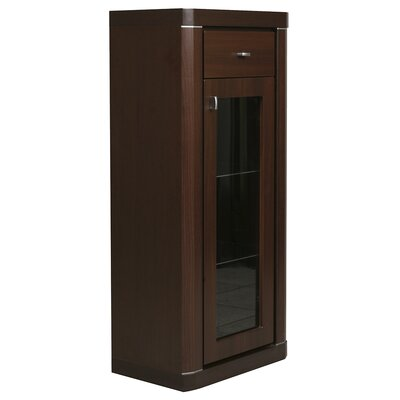 House Additions Piangil 1 Door, 1 Drawer Narrow Cabinet