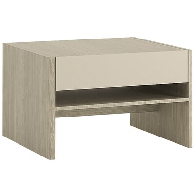House Additions Pier Milan Coffee Table with Magazine Rack