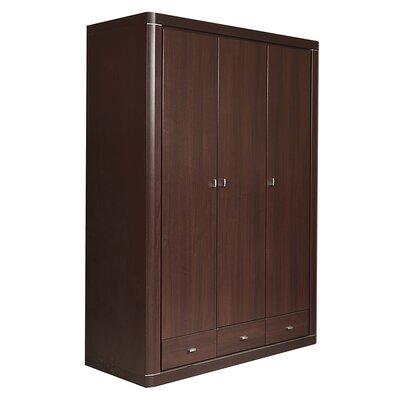 House Additions Piangil 3 Door Wardrobe