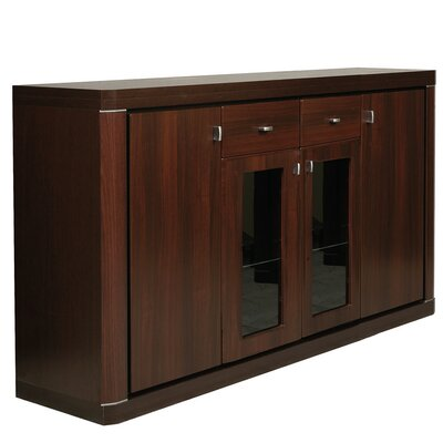 House Additions Piangil 4 Door 2 Drawer Sideboard