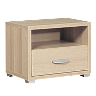 House Additions Coral Bay 1 Drawer Bedside Table