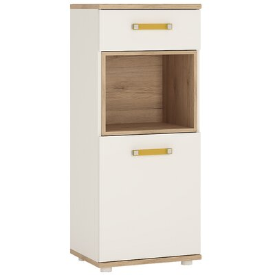 House Additions Pimpinio 1 Door 1 Drawer Chest