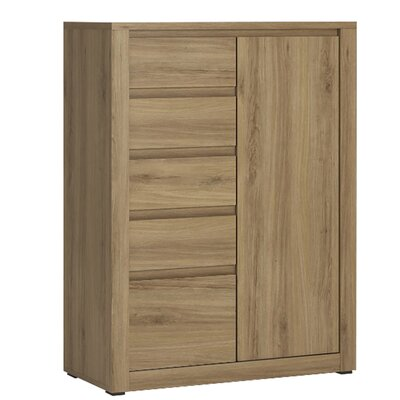 House Additions Glenburn 1 Door and 5 Drawer Cabinet