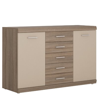 House Additions Gembrook 2 Door, 5 Drawer Sideboard