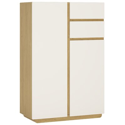 House Additions Karyrie 2 Door 2 Drawer Combi Chest