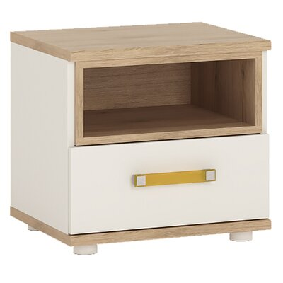 House Additions Pimpinio 1 Drawer Bedside Table