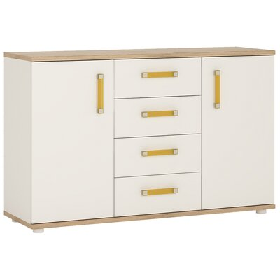 House Additions Pimpinio 2 Door 4 Drawer Sideboard