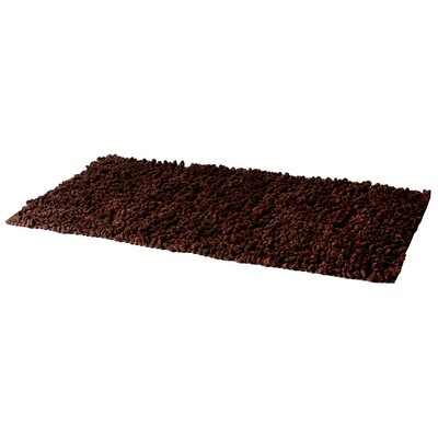 House Additions Chen Twist Chocolate Area Rug