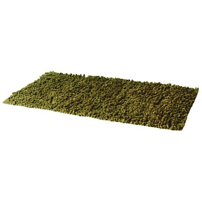 House Additions Chen Twist Green Area Rug