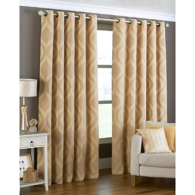 House Additions Ogee Curtain Panel
