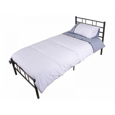 House Additions Milo Single Wrought Iron Bed