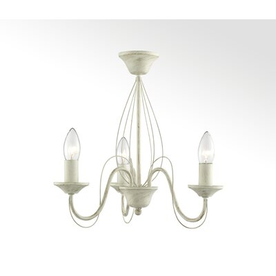 House Additions 3 Light Candle-Style Chandelier