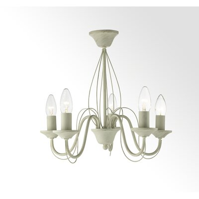 House Additions 5 light Candle-Style Chandelier