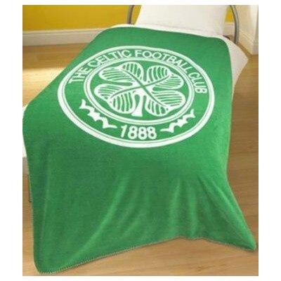 House Additions Football Fleece Celtic Blanket
