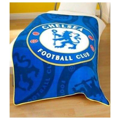 House Additions Football Fleece Chelsea Blanket