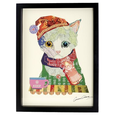 House Additions Kitten Collage Picture Framed Graphic Art