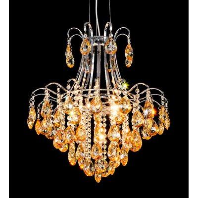 House Additions Vienna 6 Light Chandelier
