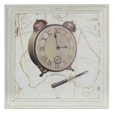 House Additions Vintage Alarm Clock Framed Graphic Art