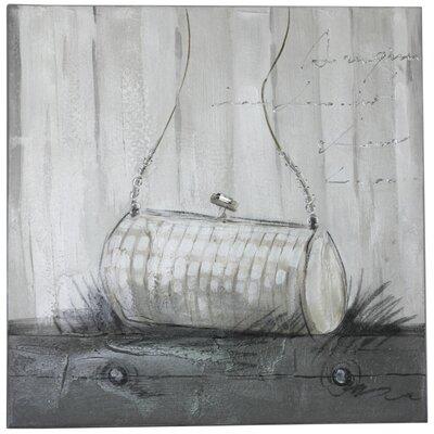 House Additions Heather Evening Bag Art Print