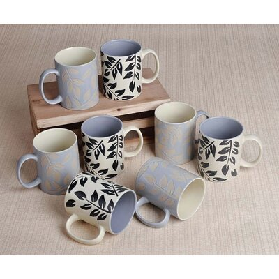 House Additions 8 Piece 0.3L Mug Set