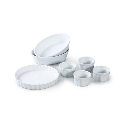 House Additions 7 Piece Porcelain Baking Set