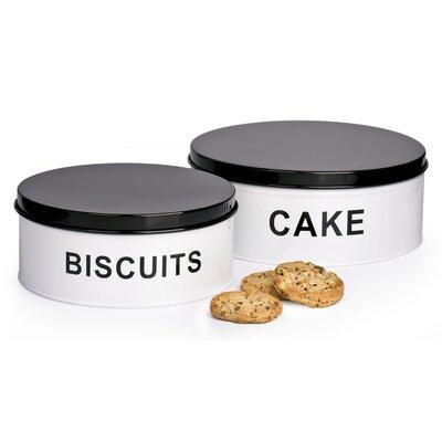 House Additions 2-Piece Cake Tin Set