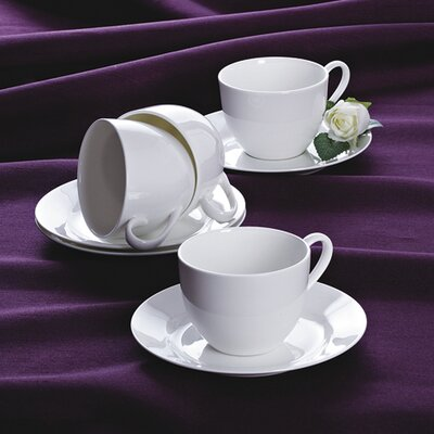 House Additions Crozet 8 Piece China Dinnerware Set