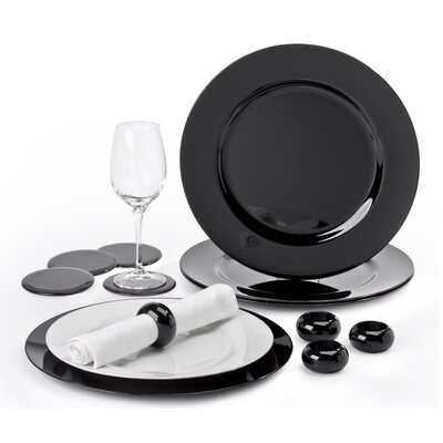House Additions Charger 12 Piece Dinnerware Set