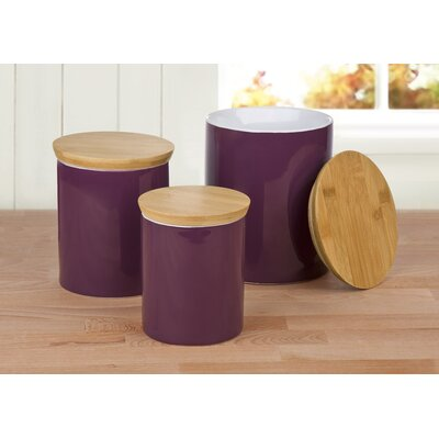 House Additions 3-Piece Storage Canister Set