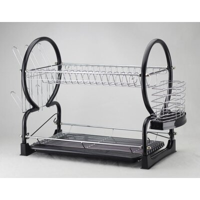 House Additions 39cm 2 Tier Dish Drainer