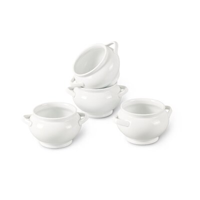 House Additions 11cm Porcelain Soup Bowl in White