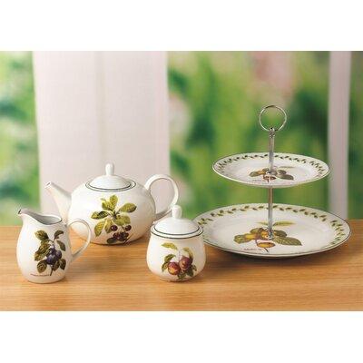 House Additions Orchard Fruit 4 Piece Porcelain Tea Set