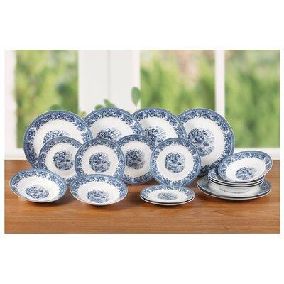 House Additions Porcelain 18 Piece Dinnerware Set