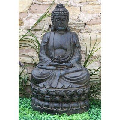 House Additions Meditating Sitting Buddha Large Statue