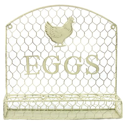 House Additions Wall Hanging Dozen Eggs Holder