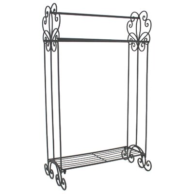 House Additions Scroll 50.8cm Freestanding Towel Rail