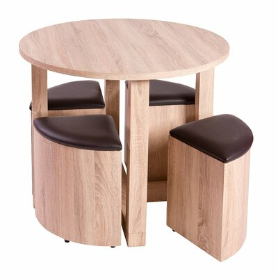 House Additions Deniliquin Dining Table and 4 Chairs