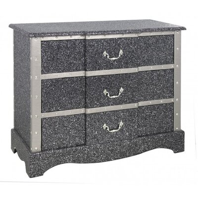House Additions 3 Drawer Chest of Drawers