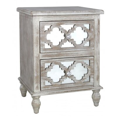 House Additions Cancun Beach 2 Drawer Chest of Drawers