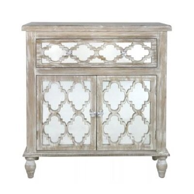 House Additions Cancun Beach 1 Drawer 2 Door Cabinet