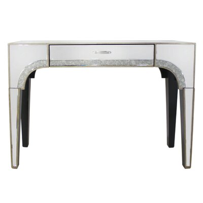 House Additions Hollywood Glamour Console Table