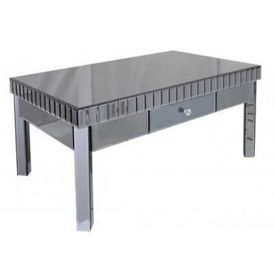 House Additions Bevelled Mirror Coffee Table