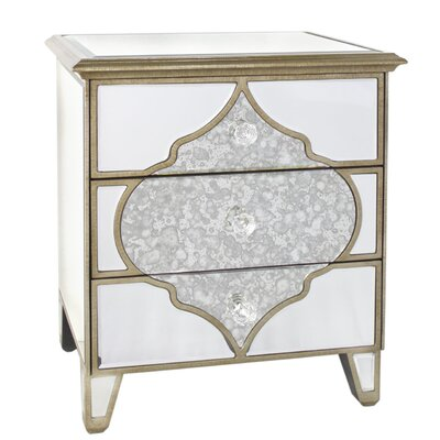 House Additions Morocco 3 Drawer Chest of Drawers