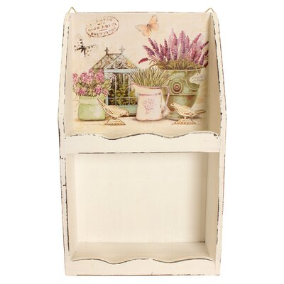 House Additions Lavender Dreams Wall Shelf