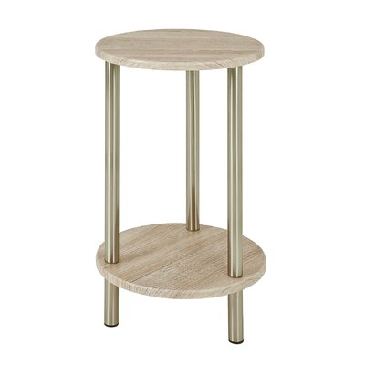 House Additions Round Country Side Table